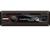 Creasono MP3-RDS-Autoradio CAS-3300BT USB / SD / Bluetooth (refurbished); MP3-Autoradios (1-DIN)