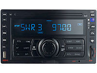 "Creasono 2-DIN-MP3-Autoradio ""CAS-3320DD"" USB / SD / Bluetooth / RDS"