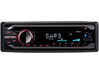 Creasono MP3-Autoradio mit Bluetooth, CD-Player, USB, SD, RDS, 4x 50 Watt