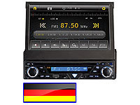 "Creasono 7"" Touchscreen DVD-Autoradio mit Navigation D (refurbished)"