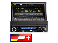"Creasono 7"" Touchscreen DVD-Autoradio mit Nav. D-A-CH (refurbished)"