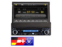 "Creasono 7"" Touchscreen DVD-Autoradio mit Nav. Westeur. (refurbished)"