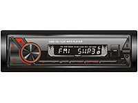 Creasono MP3-Autoradio mit Bluetooth & Freisprechfunktion, RDS, USB, SD, 4x45 W